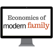Economics of Modern Family Logo